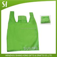 recycling nylon bag cheap foldable eco shopping bag