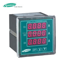 SPM-208UIF, The three phase voltage, current and active frequency combination meter
