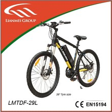 Middle motor electric mountain bikes LMTDF-29L