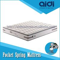 Eco-Friendly Raw Material Pocket Spring Anti-Bacterial Latex Foam Mattress CLT-FP25