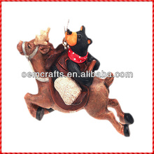 Inflatable resin custom animal christmas tree decoration kits