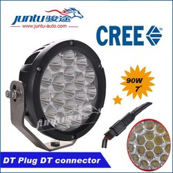 2015 Newest in Market 7inch Led 90w Led Work Light,12/24v Driving On Truck,Jeep,Atv,4wd,Boat,Mining Led Driving Light