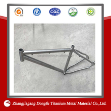 Best price welded ASTM titanium recument tricke frame/bike frame
