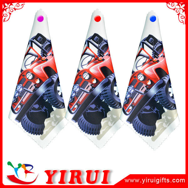 yb173 stampa personalizzati in microfibra panno per pulire gli occhiali