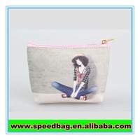 New arrival cute Cartoon girls printing costmetic make up bag for sale