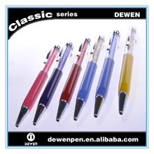 Weeding souvenir gifts metal cross pen,custom logo touch pen,stylus pen