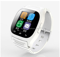 LED Display Smart Bluetooth Watches M26 Suport Dial / Alarm / Music Player / Pedometer Watch for Android IOS HTC Mobile Phone