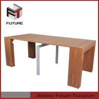 12 seater extension MDF with veneer dining table