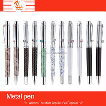 2015 Best High quality metal pen set for wed guest gift