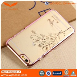 "Clear For iPhone 6 Plus 5.5"" Transparent Soft TPU Cover Phone Cases"