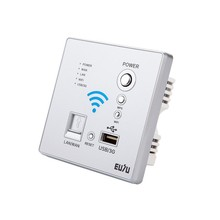 Mejor oferta router inalámbrico 3 g wifi rj45 en la pared 86 panel