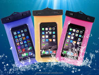 High quality Universal swimming diving Waterproof cell phone bags for Apple and Sumsung CO-WPF-106