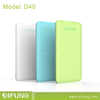 New Slim Portable Mobile Charger/Power Bank 4000mAh With Touch Switch