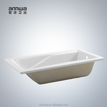 big size portable walk in acrylic plastic glazing bathtub for adults