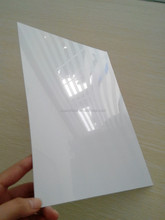 glossy or matt white pvc sheet or roll with good quality