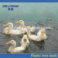 de alta calidad de plástico plana de malla para el cultivo de pato