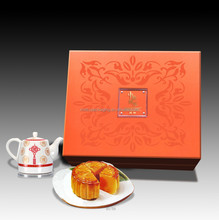Custom chinese packaging printing mooncake box design