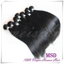 Grade 6a 100% virgin hair high quality can be dyed and bleached