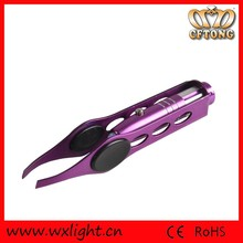 Wholesale Make-up Led Light Eyelash Led Tweezers