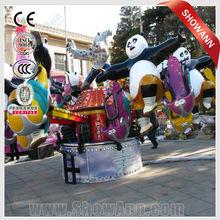 China Outdoor playground model Panda rides