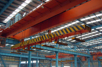 25 + 25 tons Overhead Crane for sale With Carrier Beam