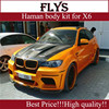 X6 body kit. Haman body kit for X6 E71. x6 Haman body kit. Best Price! High quality!!!Perfect fitment!!!