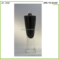 China Wholesale 500ml spary frosted liquor glass bottle