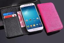Leather Wallet Cover For Mobile Phone