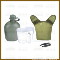 Military supply aluminum canteen