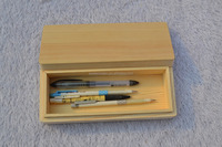 pine wood wooden pencile boxes