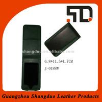 Magnetic Closure Design Genuine Leather Mobile Phone Case
