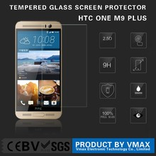 Low Price !! High Qulity 0.26mm Thickness Mobile Phone 9H Clear Tempered glass screen protector for HTC ONE M9 Plus + (OEM/ODM)