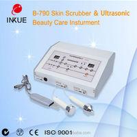 ultrasonic cleaner face and reduce dead skin cleaner B-790/good design scrubber skin wrrinkle reduce for sanlon or house