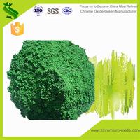 Green color resistance cr2o3 amphoteric metal oxidation chrome oxide green coating cr2o3