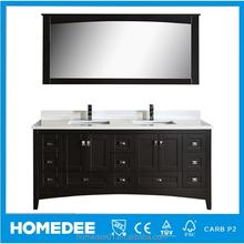 Homedee Solid Wood Classic Bathroom Cabinet,Bathroom Canity suites,Bathroom Funiture
