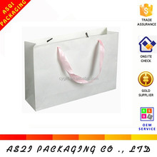 Custom various size tote bag blank with pp handles