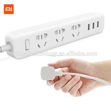 Original Xiaomi Mi Power Strip inteligente adaptador de enchufe del zócalo del enchufe 3 USB