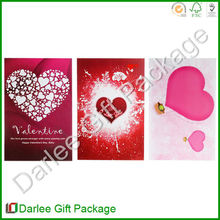 Valentine love cards designs/Greeting cards for valentine's day/Recordable valentine's card
