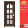 Modern House PVC doors interior home designs SC-P028