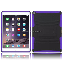 2 in 1 PC Silicone Rugged Combo Shockproof case for ipad pro