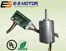 42mm 24V brushless DC motor