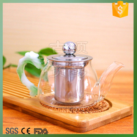 creative teapot/dragon handle glass tea kettle