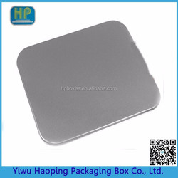 Custom High Quality tin case and square CD&DVD tins metal tin dvd case without window