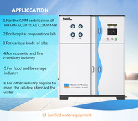 ro water purifier purified water machine For hospital preparations lab