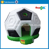 Cheap soccer ball shaped inflatable bouncer house for sale