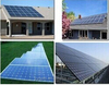 250W poly solar panel for DC solar water pump use