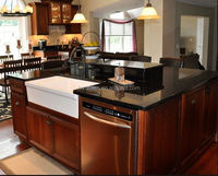 solid wood kitchen cabinet partition