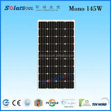 solar panel photovoltaic buy from alibaba 145w pv solar panel