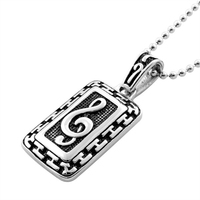 Wholesale hip hop jewelry Stainless steel antique pendant necklaces for men