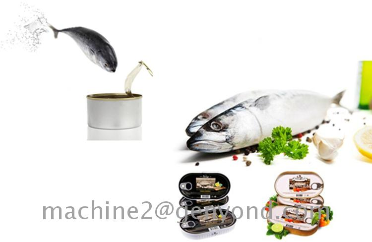 seafood canning machine